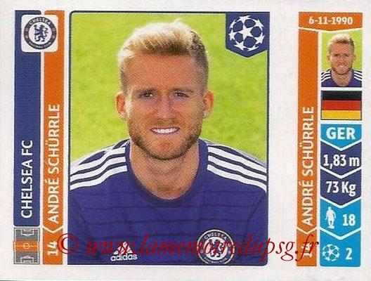 2014-15 - Panini Champions League N° 496 - Andre SCHURRLE (Chelsea FC)
