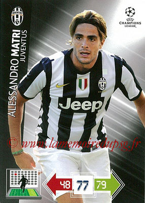 2012-13 - Adrenalyn XL champions League N° 120 - Alessandro MATRI (Juventus FC)
