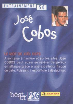 N° 050 - Jose COBOS (Verso)