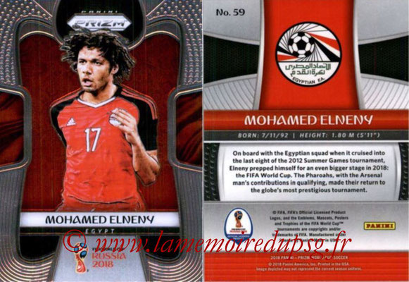 2018 - Panini Prizm FIFA World Cup Russia - N° 059 - Mohamed ELNENY (Egypte)