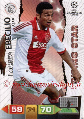 2011-12 - Panini Champions League Cards - N° 008 - Lorenzo EBECILIO (AFC Ajax) (Rising Star)