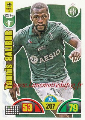 2018-19 - Panini Adrenalyn XL Ligue 1 - N° 323 bis - Yannis SALIBUR (Saint-Etienne)