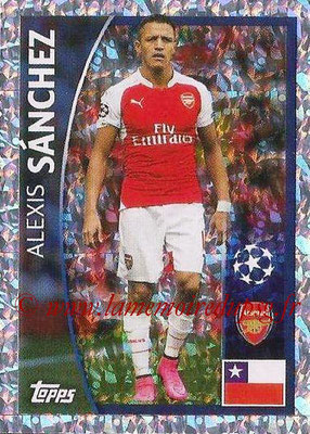 2015-16 - Topps UEFA Champions League Stickers - N° 370 - Alexis SANCHEZ (Arsenal FC)