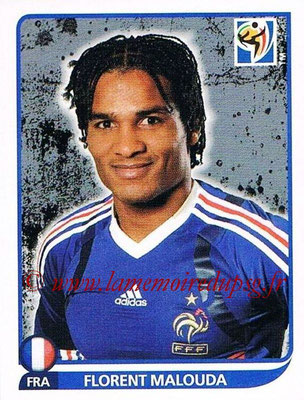 2010 - Panini FIFA World Cup South Africa Stickers - N° 099 - Florent MALOUDA (France)