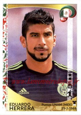 Panini Copa America Centenario USA 2016 Stickers - N° 224 - Eduardo HERRERA (Mexique)