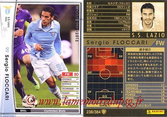 2012-13 - WCCF - N° 238 - Sergio FLOCCARI (SS Lazio)