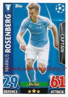 2015-16 - Topps UEFA Champions League Match Attax - N° 376 - Markus ROSENBERG (Malmö FF) (Captain)