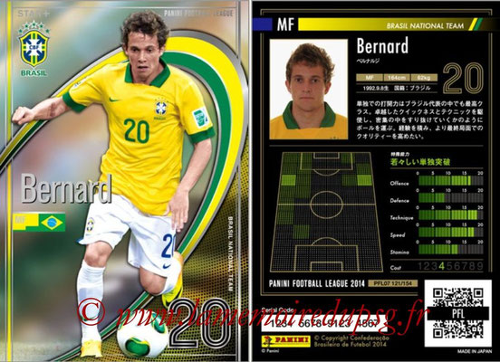 Panini Football League 2014 - PFL07 - N° 120 - BERNARD (Bresil) (Star +)