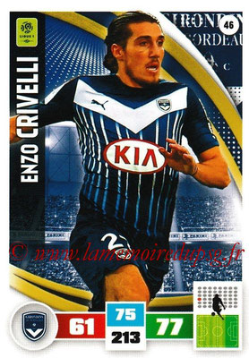 2016-17 - Panini Adrenalyn XL Ligue 1 - N° 046 - Enzo CRIVELLI (Bordeaux)