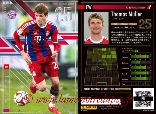 Panini Football League 2015 - PFL14 - N° 069 - Thomas MÜLLER (FC Bayern Munich)
