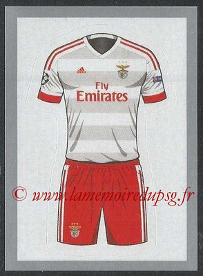 2015-16 - Topps UEFA Champions League Stickers - N° 150 - Maillot Exterieur SL Benfica