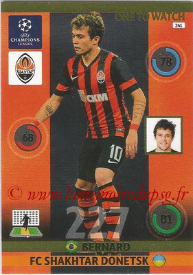 2014-15 - Adrenalyn XL champions League N° 241 - BERNARD (FC Shakhtar Donetsk) (One to watch)