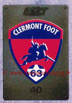 2015-16 - Panini Ligue 1 Stickers - N° 489 - Ecusson Clermont Foot 63