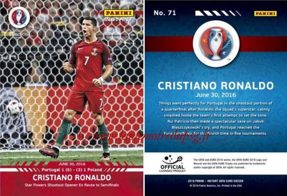 Panini Instant Euro 2016 - N° 071 - Cristiano RONALDO