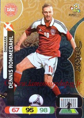 Panini Euro 2012 Cards Adrenalyn XL - N° 277 - Dennis ROMMEDAHL (Dannemark) (Master)