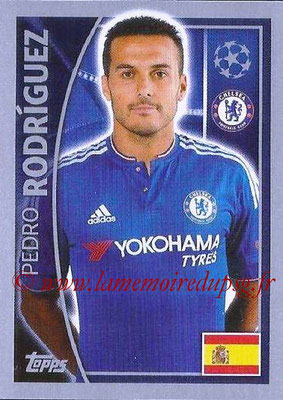 2015-16 - Topps UEFA Champions League Stickers - N° 461 - Pedro RODRIGUEZ (Chelsea FC)