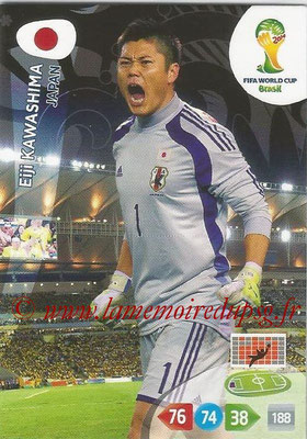 2014 - Panini FIFA World Cup Brazil Adrenalyn XL - N° 224 - Eiji KAWASHIMA (Japon)