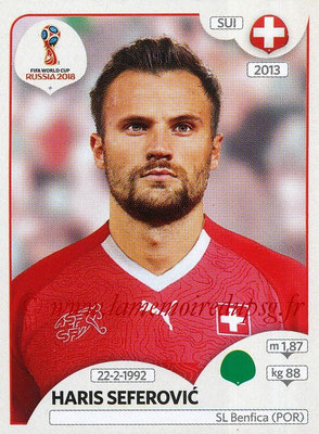 2018 - Panini FIFA World Cup Russia Stickers - N° 389 - Haris SEFEROVIC (Suisse)