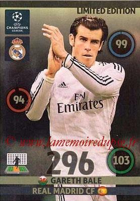 2014-15 - Adrenalyn XL champions League Update edition N° LEU-GB - Gareth BALE (Real Madrid) (Limited Edition)