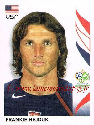 2006 - Panini FIFA World Cup Germany Stickers - N° 346 - Frankie HEJDUK (États Unis)