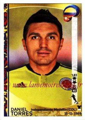 Panini Copa America Centenario USA 2016 Stickers - N° 056 - Daniel TORRES (Colombie)