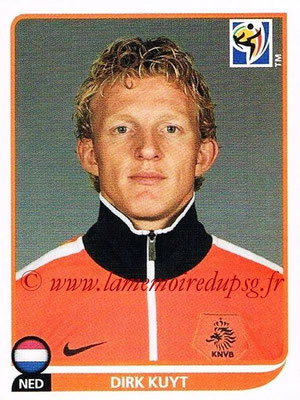 2010 - Panini FIFA World Cup South Africa Stickers - N° 351 - Dirk KUYT (Pays Bas)