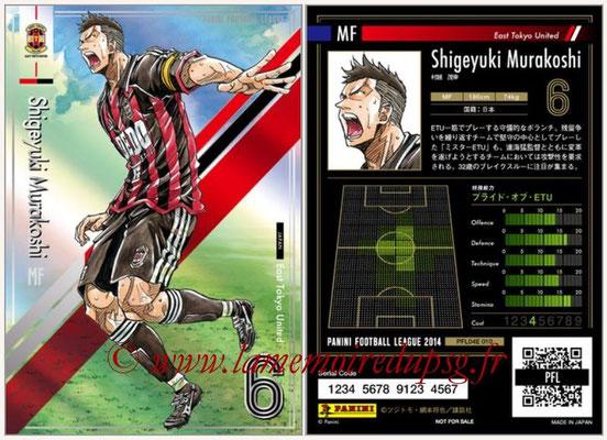 Panini Football League 2014 - PFL04E - N° 010 - Shigeyuki Murakoshi (East Tokyo United)