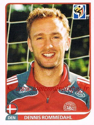 2010 - Panini FIFA World Cup South Africa Stickers - N° 367 - Dennis ROMMEDAHL (Danemark)