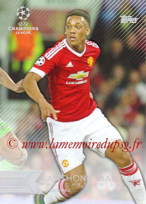 2015-16 - Topps UEFA Champions League Showcase Soccer - N° 040 - Anthony MARTIAL (Manchester United FC)