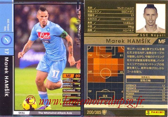 2013-14 - WCCF - N° 200 - Marek HAMSIK (SSC Napoli)
