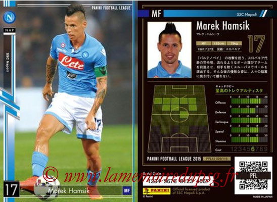 Panini Football League 2015 - PFL13 - N° 029 - Marek HAMSIK (SSC Napoli)