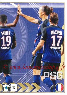 2015-16 - Panini FIFA 365 Stickers - N° 448 - Equipe PSG 2