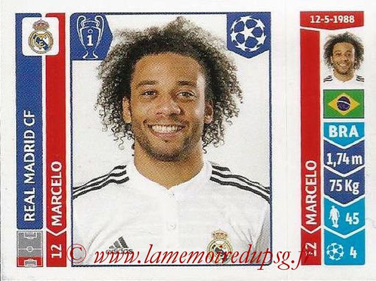 2014-15 - Panini Champions League N° 113 - MARCELLO (Real Madrid FC)