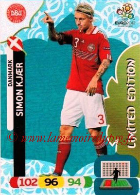 Panini Euro 2012 Cards Adrenalyn XL - N° LE04 - Simon KJAER (Danemark) (Limited Edition)