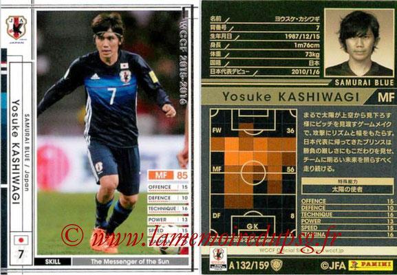 2015-16 - Panini WCCF - N° A132 - Yosuke KASHIWAGI (Japon)