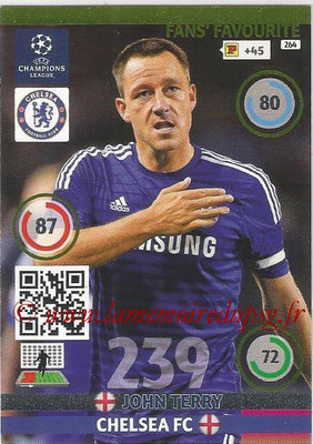 2014-15 - Adrenalyn XL champions League N° 264 - John TERRY (Chelsea FC) ( Fans' Favourite)