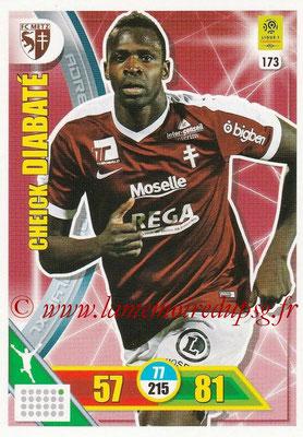 2017-18 - Panini Adrenalyn XL Ligue 1 - N° 173 - Cheick DIABATE (Metz)