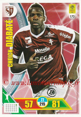 2017-18 - Panini Adrenalyn XL Ligue 1 - N° 173 - Cheick DIABATE (Metz)