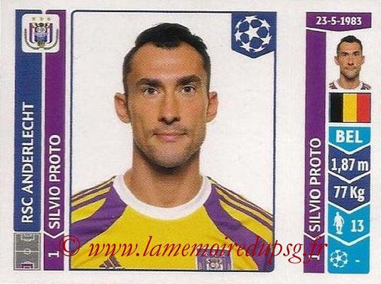 2014-15 - Panini Champions League N° 307 - Sylvio PROTO (RSC Anderlecht)