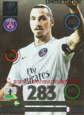 2014-15 - Adrenalyn XL champions League N° LE-ZI - Zlatan IBRAHIMOVIC (Paris Saint-Germain) (Limited Edition)