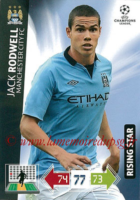 2012-13 - Adrenalyn XL champions League N° 129 - Jack RODWELL (Manchester City FC) (Rising Star)