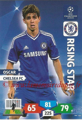 2013-14 - Adrenalyn XL champions League N° 122 - OSCAR (Chelsea FC) (Rising Star)