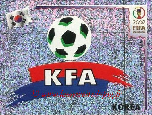 2002 - Panini FIFA World Cup Stickers - N° 242 - Logo Corée