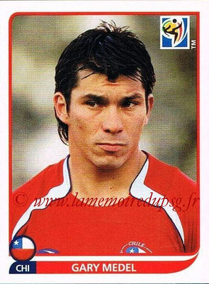 2010 - Panini FIFA World Cup South Africa Stickers - N° 623 - Gary MEDEL (Chili)