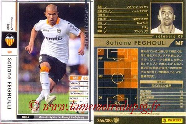 2013-14 - WCCF - N° 266 - Sofiane FEGHOULI (FC Valence)