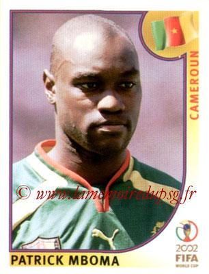N° 382 - Patrick M'BOMA (1994-97, PSG > 2002, Cameroun)