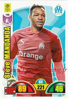 2018-19 - Panini Adrenalyn XL Ligue 1 - N° 145 - Steve MANDANDA (Marseille)