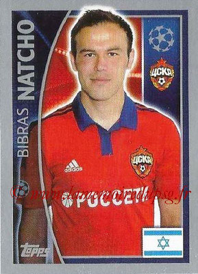 2015-16 - Topps UEFA Champions League Stickers - N° 125 - Bibras NATCHO (CSKA Moscou)
