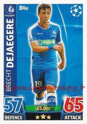2015-16 - Topps UEFA Champions League Match Attax - N° 312 - Brecht DEJAEGERE (KAA Gent)