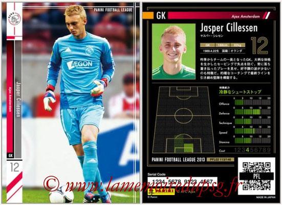 Panini Football League 2013 - PFL02 - N° 113 - Jasper Cillessen ( Ajax Amsterdam )